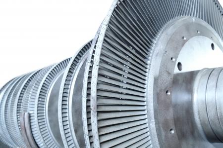 maquina de vapor: Potencia de la turbina del generador Foto de archivo