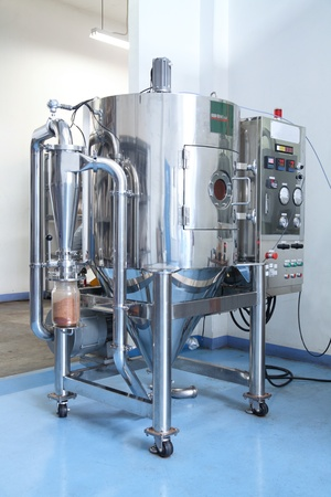 self contained: Pharmaceutical processing equipment