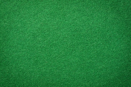 Surface texture of real poker table felt