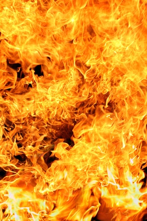 Fire flames background texture Stock Photo - 12544715