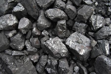 carbone: Close up di carbone nero e lucido