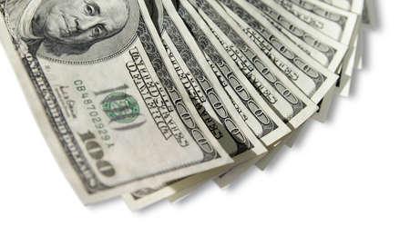 American one hundred dollar bills