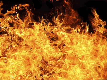 resplandor: Llamas de fuego textura de fondo