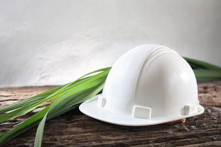 Concept schot van milieuvriendelijke industriële veiligheidsnorm