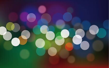 Multi colored defocused abstract bokeh lights Stock Photo - 14334381