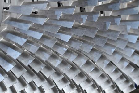 turbin: turbinblad textur bakgrund