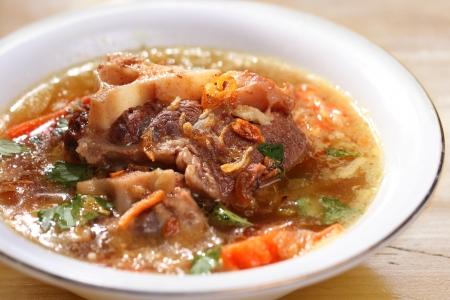 despacio: Indonesia famosa sopa de rabo de buey