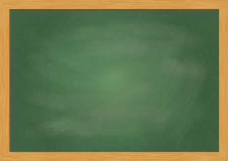 Empty realistic black board in vector format