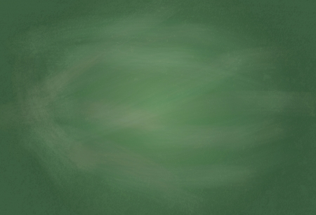 Empty realistic black board in  format Vector