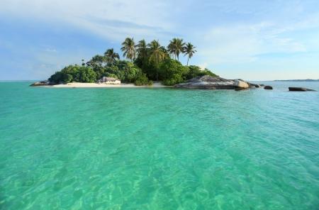 Tropical Island, perfect getaway Stock Photo