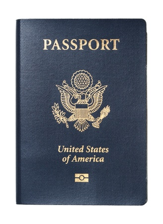 Passport of United States of America photo