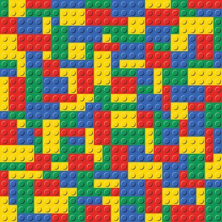 Lego Brick Seamless Background Pattern Imagens - 82741353