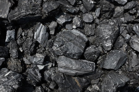 Close up of coal background, the largest source of energy for the generation of electricity worldwide Zdjęcie Seryjne
