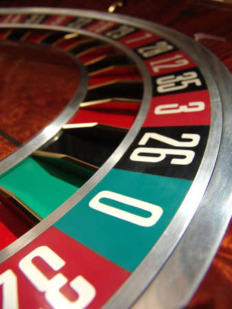 addictive: Roulette wheel                                Stock Photo