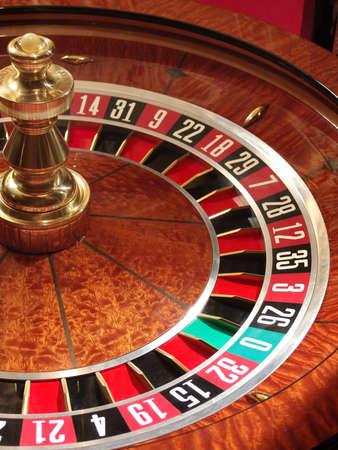 craps:         Roulette wheel