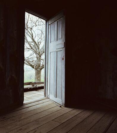 Darkness to LIght Conceptual Door Picture
