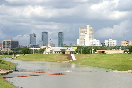 Skyline of Fort Worth, Texas photo