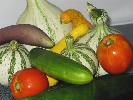 Close-up of various vegetables