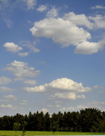 Scenic  sky and clouds Stock Photo