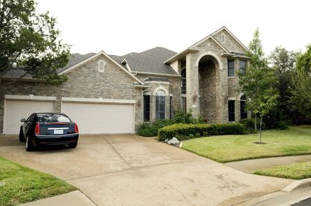Upscale Home Stock Photo - 11215047