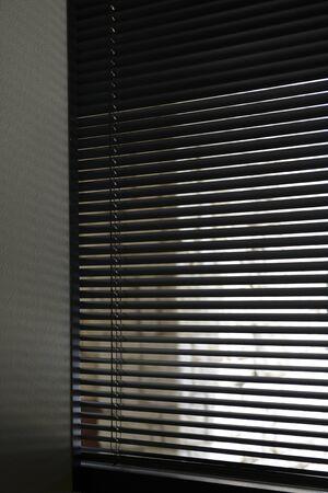 Venetian blinds for background