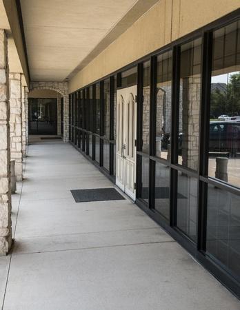 Store Front Walkway