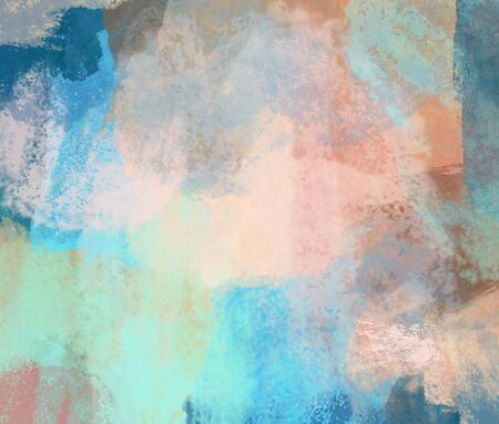 Abstract background, splashed paint, flow from one color to another, place for your design. Reklamní fotografie