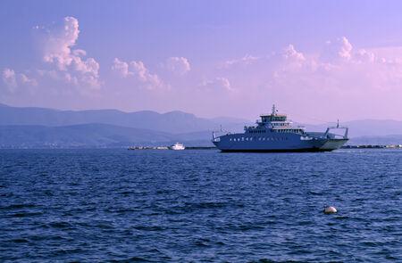 ferryboat: ferryboat in the sea
