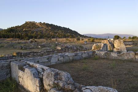 teatro antiguo: antiguo teatro en Eretria