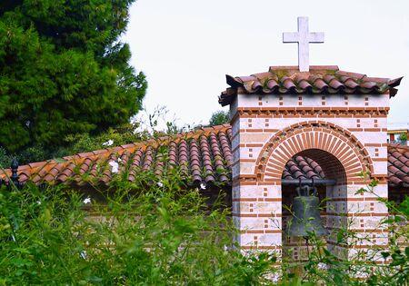 monastery nature: church Stock Photo