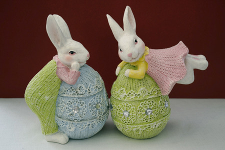 pascha: easter bunnies