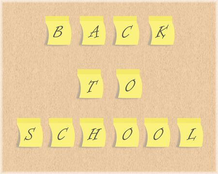 post it: back to school post it
