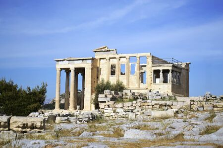 greece: Erechtheion temple in Greece