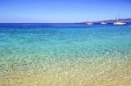 ionio: sailboats in Ionian sea Greece