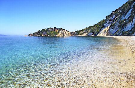 ionio: Gidaki beach in Ithaca island Greece