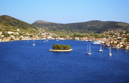 ionio: Vathy in Ithaca island Greece