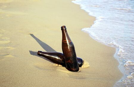 beers: beers on the beach