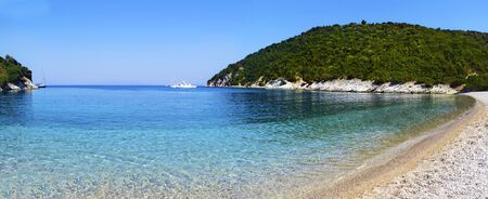Filiatro beach in Ithaca island Greece