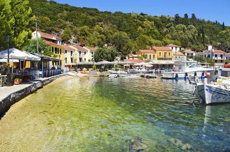 ionio: Kioni port in Ithaca island Greece