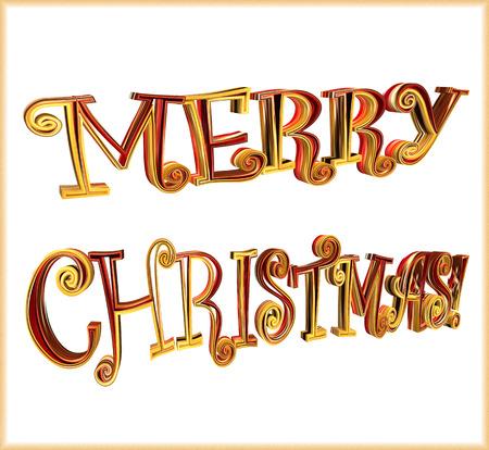 renders: Merry Christmas card