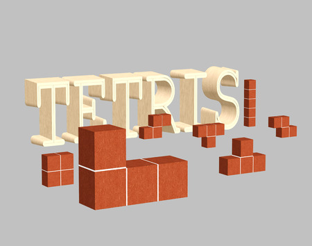 tetris: tetris game with 3D cubes