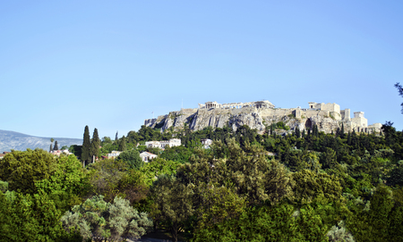 sightseeng: Acropolis view in Athens Greece