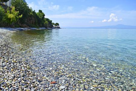 messinia: Almyros beach in Kalamata Messinia Greece