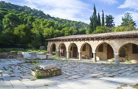 monasteri: Daphni Monastery ad Atene in Grecia
