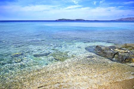 andros: beach in Andros island Greece summer photo greek summer