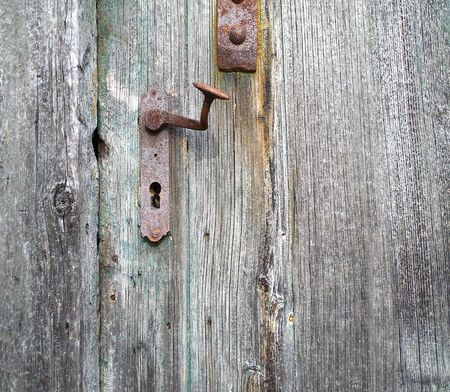 old wooden door: old wooden door photo texture Stock Photo