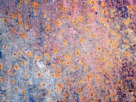 rust background: erosion rust photo texture - rust background - metallic material Stock Photo