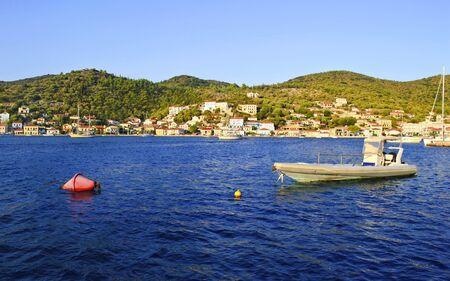 ionio: landscape of Vathy Ithaca Greece - Ionian islands Greece