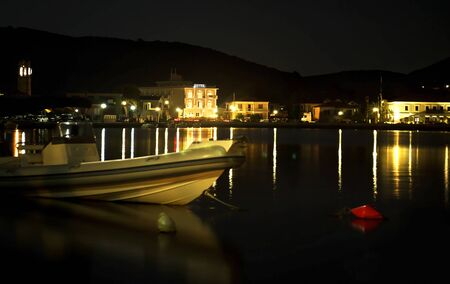 long exposure: night photography of Ithaca Greece - long exposure photography