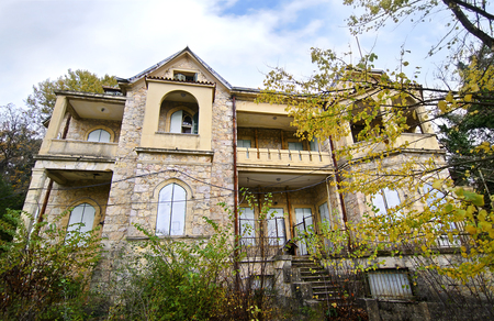 royal family: abandoned house of Tatoi Palace, the place where stayed the former greek Royal family